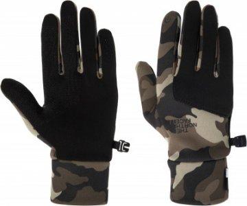 Перчатки мужские Etip, размер 9 The North Face. Цвет: коричневый