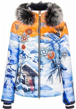 Куртка пуховая женская Corbier, размер 42 Sportalm. Цвет: оранжевый