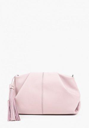 Сумка и брелок Afina. Цвет: розовый
