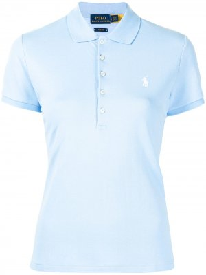 Рубашка поло Julie Polo Ralph Lauren. Цвет: синий