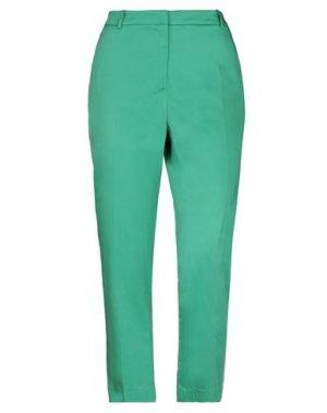 Повседневные брюки EMMA & GAIA. Цвет: зеленый