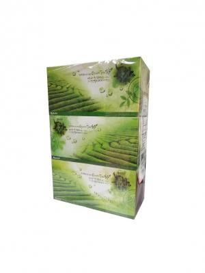 Набор Салфетки Bellagio Green Tea (3 упаковки). Цвет: белый