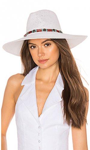 Шляпа larimar ale by alessandra. Цвет: белый