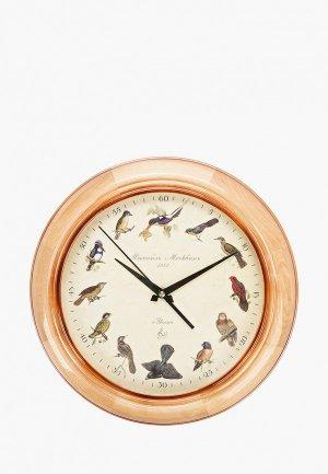 Часы настенные Михайлъ Москвинъ. Цвет: бежевый