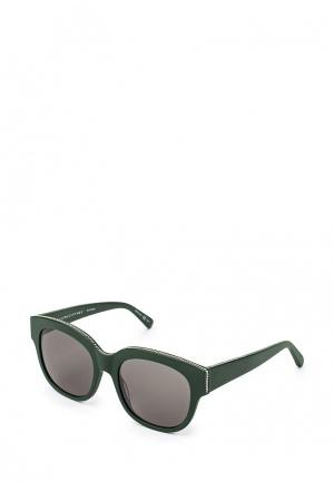Очки солнцезащитные Stella McCartney ST977DWQYL94. Цвет: зеленый