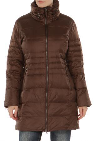 Куртка Loft. Цвет: коричневый