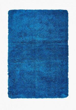 Коврик для ванной Shahintex. Цвет: синий