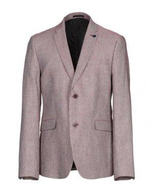 Пиджак AZZARO. Цвет: красно-коричневый
