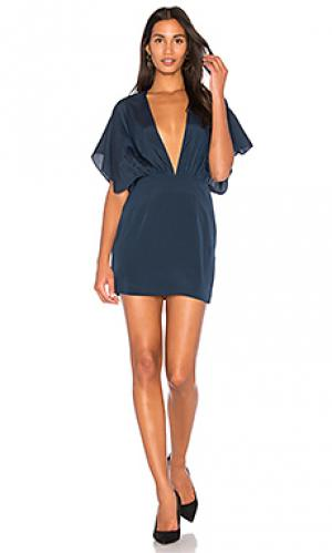 Платье reese AQ/AQ. Цвет: синий