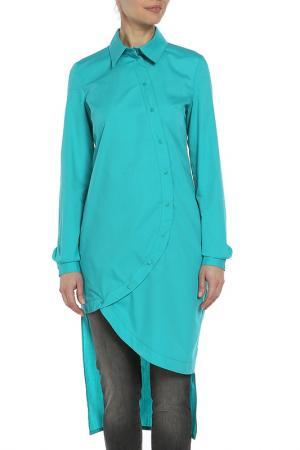 Платье-туника Adzhedo. Цвет: зеленый