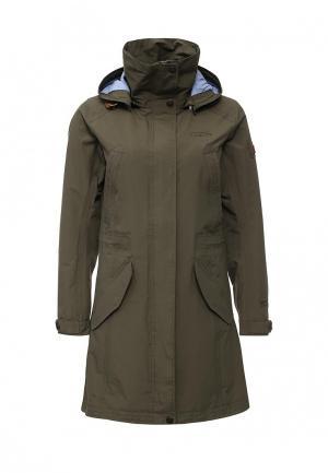 Куртка Tenson CINDY. Цвет: хаки