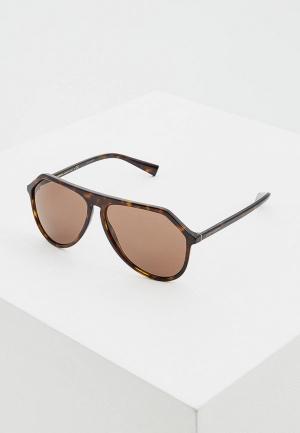 Очки солнцезащитные Dolce&Gabbana DG4341 502/73. Цвет: коричневый