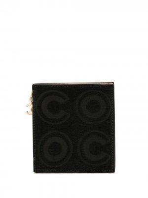 Мини-клатч Chanel Pre-Owned. Цвет: черный