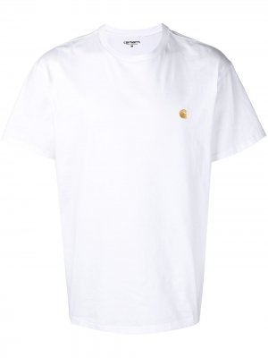 Футболка с логотипом Carhartt WIP. Цвет: белый