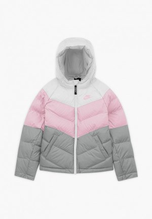 Куртка утепленная Nike U NSW SYNTHETIC FILL JACKET. Цвет: разноцветный