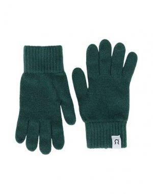 Перчатки RIFÒ. Цвет: зеленый