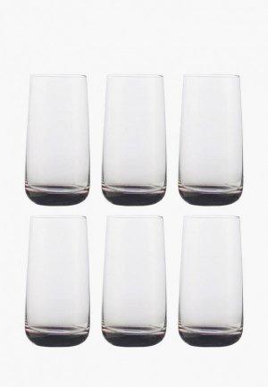 Набор стаканов Decogallery. Цвет: прозрачный
