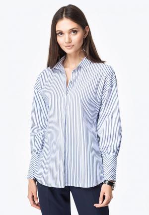 Рубашка Vilatte. Цвет: синий