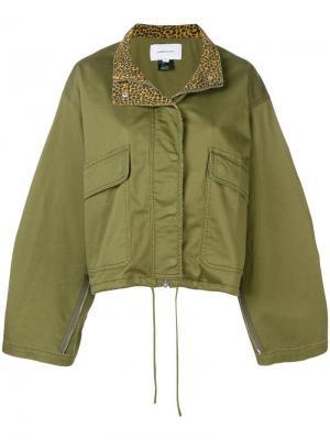 Куртка Infantry Current/Elliott. Цвет: зеленый