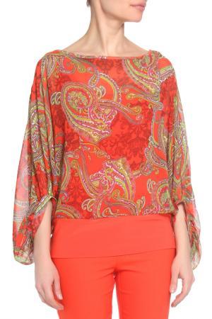 Блуза Joseph Ribkoff. Цвет: оранжевый