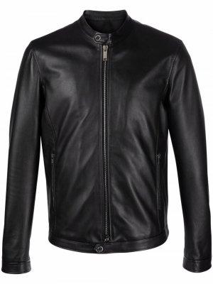 Куртка Stanford на молнии Tagliatore. Цвет: черный