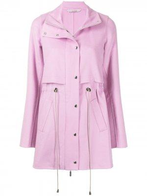 Многослойное пальто Colombo. Цвет: розовый