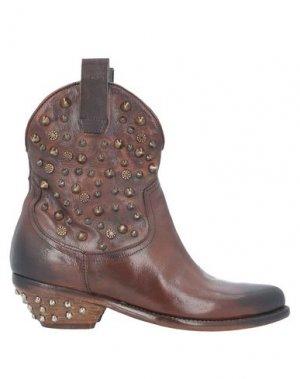 Полусапоги и высокие ботинки JP/DAVID. Цвет: какао