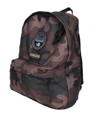 Рюкзаки и сумки на пояс NAPAPIJRI. Цвет: коричневый