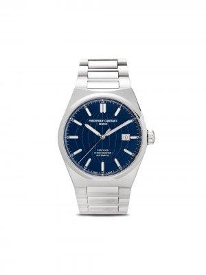 Наручные часы Highlife Automatic 41 мм Frédérique Constant. Цвет: синий