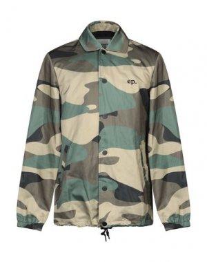 Куртка ELEVEN PARIS. Цвет: зеленый-милитари