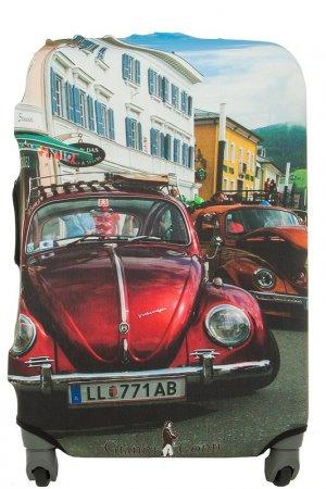 Чехол на чемодан Gianni Conti. Цвет: мультицвет