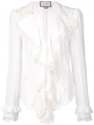 Блузка Phineas Alexis. Цвет: белый