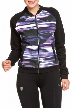 Куртка Puma. Цвет: черный