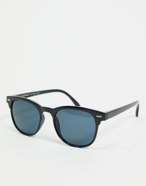 Черные солнцезащитные очки -Черный цвет AJ Morgan