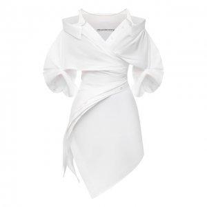 Платье Alexander Wang. Цвет: белый