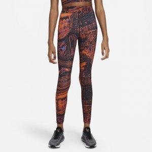 Женские леггинсы с высокой посадкой для танцев Sportswear - Черный Nike