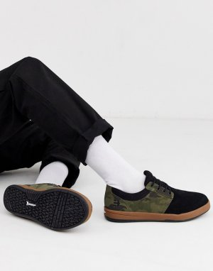 Камуфляжные кроссовки Score-Черный Etnies