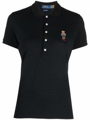 Рубашка поло Polo Bear Ralph Lauren. Цвет: черный