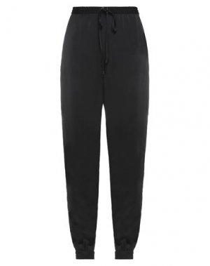 Повседневные брюки ROQUE ILARIA NISTRI. Цвет: черный