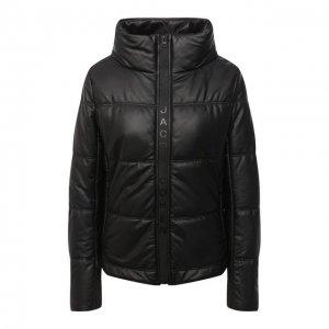 Кожаная куртка Jacob Cohen. Цвет: чёрный