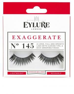 Накладные ресницы Exaggerate № 145-Черный Eylure