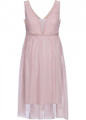 Свадебное платье bonprix. Цвет: лиловый