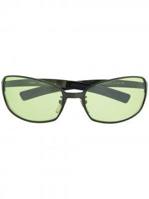 Солнцезащитные очки 2000-х годов Fendi Pre-Owned. Цвет: черный