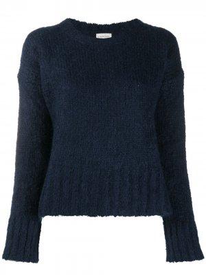 Джемпер фактурной вязки By Malene Birger. Цвет: синий
