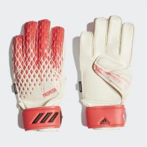Вратарские перчатки Predator 20 Match Performance adidas. Цвет: белый