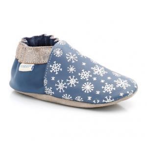 Ботиночки Snowflake ROBEEZ. Цвет: синий