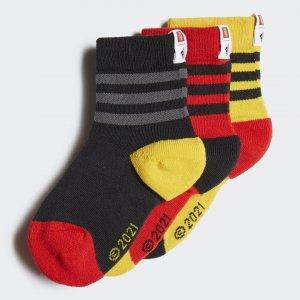 Три пары носков LEGO® Performance adidas. Цвет: красный