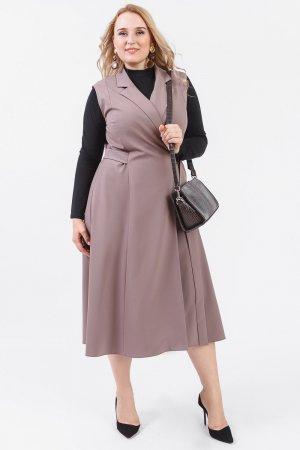Платье - сарафан с запахом Lacy