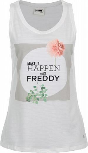 Майка женская Slounge, размер 48-50 Freddy. Цвет: бежевый