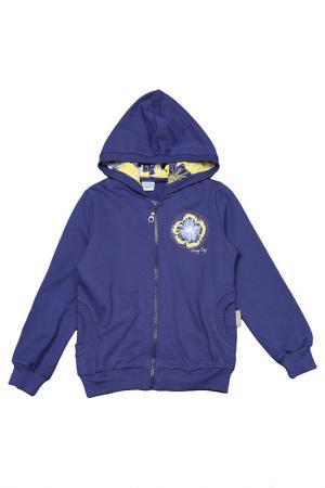 Куртка CHERUBINO. Цвет: синий